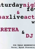 Mockba # SATURDAY NIGHT FEVER # Dj C-Tite & Aretha Sax Live Act